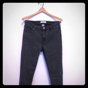 H&M L.O.G.G. Gray skinny jeans W 10